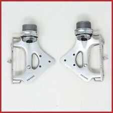 SHIMANO DURA ACE AX PD-7300 PEDALS VINTAGE ROAD RACING BIKE FLAT 1x24 Dyna Drive
