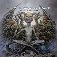 HYPOCRISY - END OF DISCLOSURE  CD  9 TRACKS HARD & HEAVY / METAL  NEU