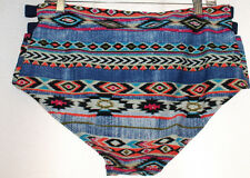 977d13c38a Womens Plus Size 3x Aztec Tribal Print Swimsuit Bathing Suit Bikini Bottoms