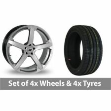 X 1/9 Team Dynamics Aluminium Wheels with Tyres