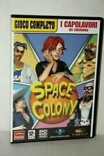 SPACE COLONY GIOCO USATO BUONO STATO PC CD ROM VERSIONE ITALIANA GD1 47557