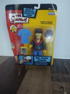 2003 Playmates The Simpsons WOS Homer Mr Plow Interactive Figure New In Package