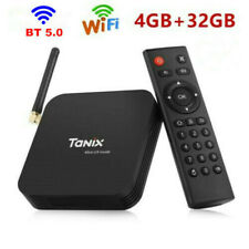 Tanix TX6 Ultra HD BT 5.0 TV Box 4+32GB DUAL Wifi 2.4GHz+ 5.8GHz 6K H.265 Media