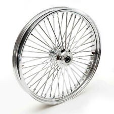 "26x3,5"" Big Spoke jante chrome avant 2x bride roulement de roue 3/4"" Harley"