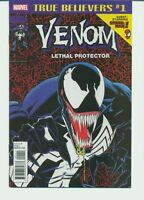 TRUE BELIEVERS VENOM LETHAL PROTECTOR #1 MARVEL COMICS (2018) SPIDER-MAN 18327