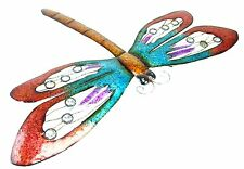 Christmas Concepts 66cm Colourful Metal Dragonfly Wall Art - Indoor/outdoor