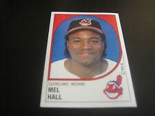 1988 Panini Baseball Mel Hall Sticker #79***Cleveland Indians***