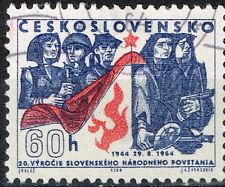 Czech WW2 Slovak National Uprising stamp 1964