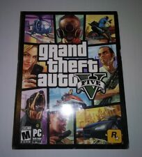 New listing Grand Theft Auto V Five Gta 5 Pc Dvd-Rom - Brand New Sealed
