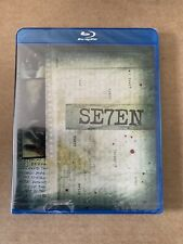 Seven (Se7en) Region Free Blu Ray New & Sealed Rare Japanese Import Brad Pitt