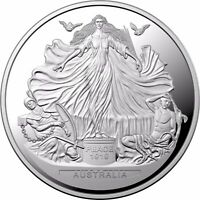 2019 $5 1oz Ag Centenary of the Treaty of Versailles Proof Coin