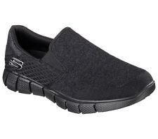 Skechers Black shoes Men's Memory Foam Comfort Slip On Casual Mesh Sneaker 51521