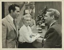 """LANA TURNER, RICARDO MONTALBAN & JOHN LUND in """"Latin Lovers"""" Original Vint. 1953"""
