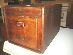 Weis Antique Stack file cabinet Section & Top quartersawn Oak office Furniture