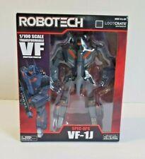 2016 - Toynami - Lootcrate Exclusive - Robotech - Spec-Ops VF-1J  Black - NIP
