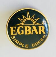 Egbar Simple Green Foundation Charity Pin Badge Rare Vintage (J11)