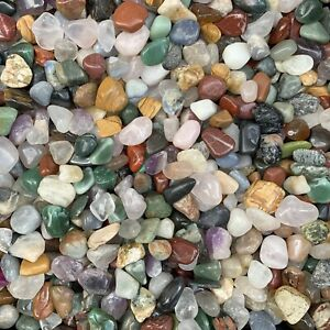 MEGA MIX - Tumble Stone Crystal Mix - 500 Grams lot of Gems & Crystals
