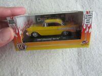 M2 Machines:  2012 Auto-Drivers:  Yellow 1957 Chevrolet Bel Air NIP