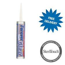 Forever CLEAR 10 Year Guarantee Anti-Mould Silicone Sealant High Humidity Area