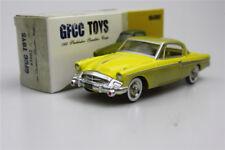 1:43  GFCC TOYS  Studebaker Speedster-Coupe modèle de voiture Jaune 1955
