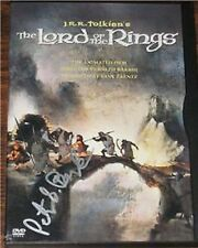 Lord of the Rings 1978 Movie Signed by Peter S. Beagle!