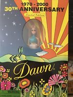 NIB Topper Dawn Doll 30th Anniversary 1970-2000 Checkerboard Toy LTD closed shop