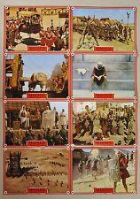 (z315) Photo Set Masada - 1981 Peter O'Toole, Peter Strauss, Barbara Carrera