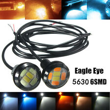 2pcs LED 5630 6SMD Eagle Eye Lamp Car Up Reverse Lamp Daytime Running Light DRL