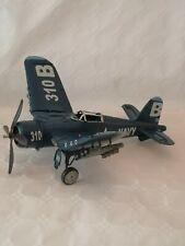 Metal Tin Plate Model - WW2 US Navy Bomber Plane