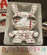 "Kidrobot 8"" Mad Ninja Dunny white edition from 2006"