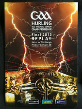 2013 GAA All-Ireland Hurling Final Replay CLARE v CORK Programme