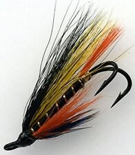 Salmon Flies MONROE KILLER Doubles sizes 4- 10 Pack of EIGHT (8) #163