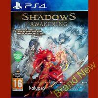 SHADOWS AWAKENING - PlayStation 4 PS4 ~16+ UK Stock Brand New & Sealed