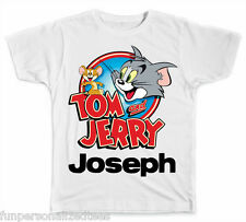 Personalized Tom and Jerry T-Shirt