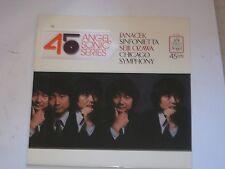 Janacek  Sinfonietta - Seiji Ozawa  Chicago Symph  Angel 45 RPM Sonic Series