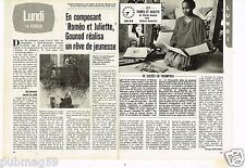 Coupure de presse Clipping 1983 (2 pages) Roméo et Juliette de Gounod