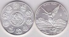 MEXICO 2010 Argento uno oncia moneta in perfette condizioni