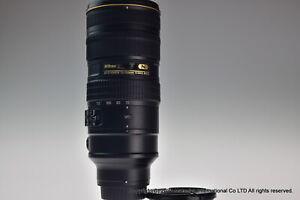 NIKON AF-S VR NIKKOR ED 70-200mm f/2.8G II Excellent