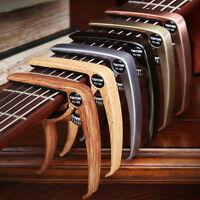 Quick Change Grain Clamp Key Capo Spring For Acoustic Electric Guitar Bass AU