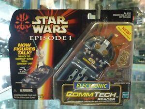 1998 HASBRO STAR WARS EPISODE I ELECRONIC COMMTECH READER / BRAND NEW