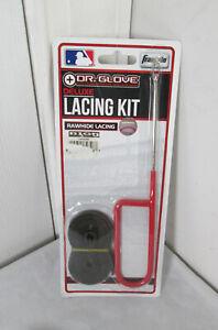 Franklin Deluxe Lacing Kit Baseball Glove Non-Slip Needle, 4' Lacing Black New