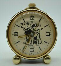 💥RARE💥 Vintage Alarm Clock Slava Belka and Strelka Space Rocket Cosmos USSR 💥
