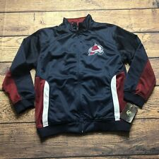 NHL Youth XL Colorado Avalanche Full Zip Track Jacket NEW