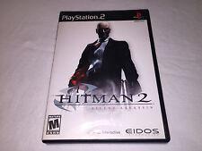 Hitman 2: Silent Assassin (Playstation PS2) Original Release Complete Excellent!