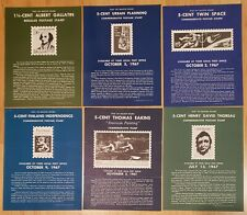 26 Us Post Office Bulletin Board Stamp Air Issue Posters 1967-1974 Free Ship!
