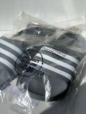 brand new adidas sliders grey and white  size 10