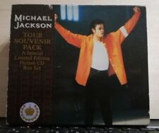 MICHAEL JACKSON- TOUR SOUVENIR PACK - 4 CD SINGOLI 1992