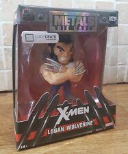 Loot Crate Exclusive Marvel Logan Wolverine Die Cast Metal Figure