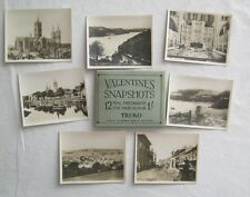 12 Real Photographs For Your Snap Shot Album Truro England Valentines