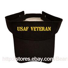 USAF AIR FORCE VETERAN SUN VISOR MILITARY LAW ENFORCEMENT